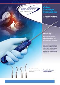 CleanPass™ Suture Passer – Velocity Orthopedics Product Development
