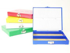 100 pcs. Slide Storage Box - C&A Scientific
