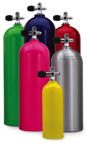 High Pressure Aluminum Gas Cylinders | Composite Cylinders - SCUBA Aluminum Cylinders | Composite Cylinders | Impact Extrusions