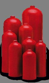 High Pressure Aluminum Gas Cylinders | Composite Cylinders - Fire Extinguisher Aluminum Cylinders | Composite Cylinders | Impact Extrusions