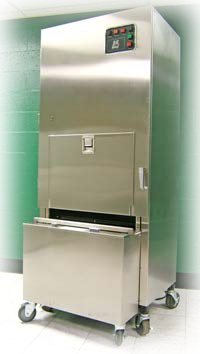 industrial compactor promed built in cart mini combo commercial trash portable