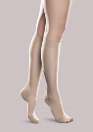 Sheer Ease Women's Mild Support Knee High - Scallop - Women's | Compression Support Hose