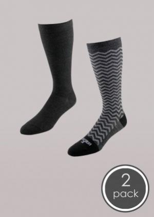 Fashion - Core-Spun Light Support Sock 2 Pack - Women's | Compression Support Hose