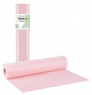 Pure pulp + Pe glue Pink Roll