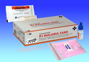 Malaria Rapid Test for detection of P. falciparum (p.f)