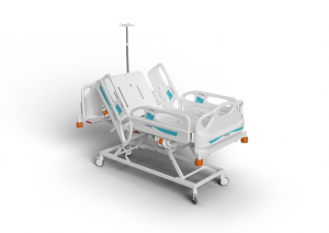 Motorized electric hospital bed ICU height adjustable