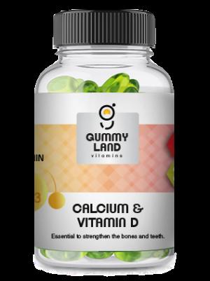 Gummy Land Calcium and Vitamin D (adult)