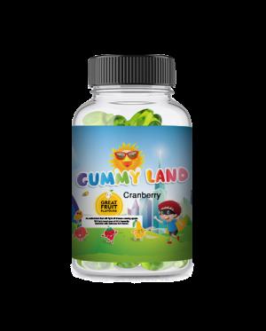 Gummy Land Cranberry