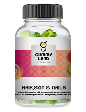 Gummy Land Hair, Skin and Nails (adult)