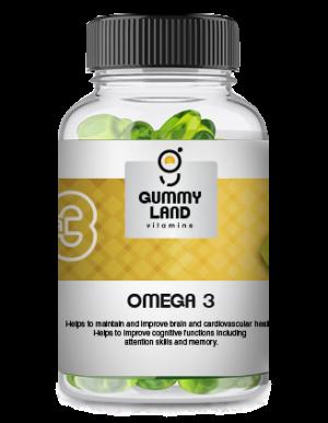Gummy Land Omega – 3 (adult)