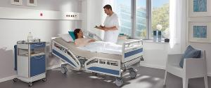 The Evario is suitable not only for day-to-day patient care, but also for intensive care and for promoting a speedy recovery. It is the ideal hospital bed for providing efficient care and comfortable conditions for patients and medical staff.