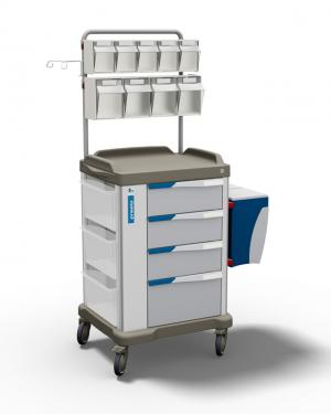 The PRESTO medium - a multipurpose trolley for healthcare by Francehopital