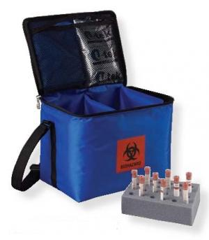 Medical Transport case for vaccines, serums, blood samples