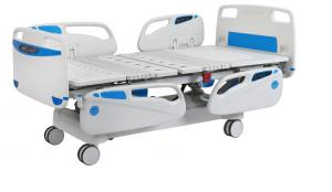 Electric bed with CPR