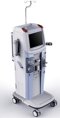 JH-6068 Double Pumps LCD Touch Screen Hemodiafiltration Machine