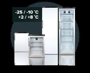 Laboratory and pharmacy refrigerator