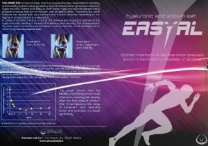 Intra-articular line EASYAL. Optimal treatment of degenerative diseases and/or inflammatory diseases of all joints.