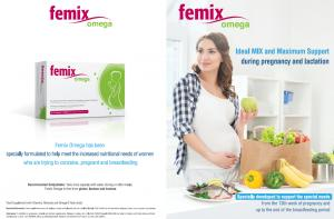 femix omega, pregnancy multivitamin, pregnancy supplement