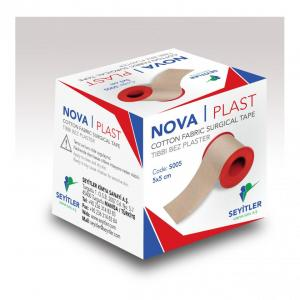Cotton fabric surgical tape