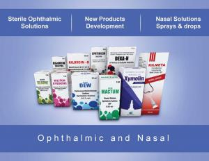Wide range of Ophthalmic & Nasal Products