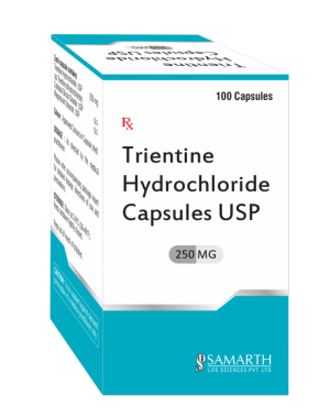 Trientine Hydrochloride Capsules 250mg