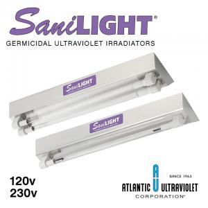 SaniLIGHT UV Air And Surface Irradiating Fixtures