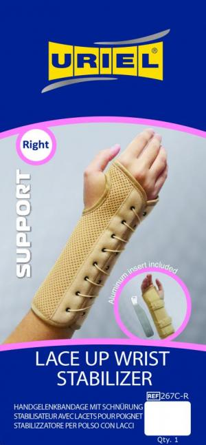 Lace-up Wrist Stabilizer