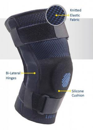 Hinged Genusil Knee Sleeve