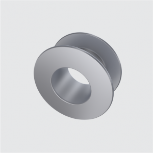 Tita-prosthesis Vent Tube type Collar Button (Titanium Tube,Grommet,Middle Ear Implants)