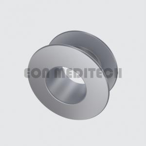 Tita-prosthesis Vent Tube type Collar Button (Titanium Tube,Grommet,Middle Ear Implants)