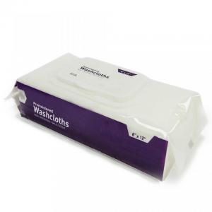 Adult elderly wet wipes Washcloths, 50ct/80ct, 8''x12''