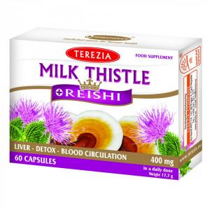 MILK THISTLE + REISHI