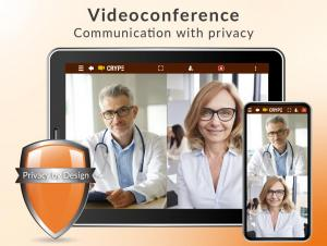 Videoconference – communication with privacy
