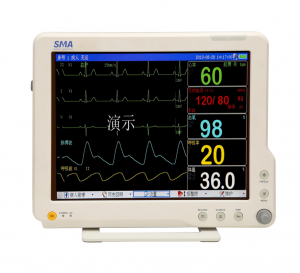 "15 ""full touch screen patient monitor SM-15M"