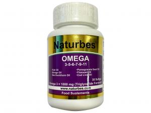 Naturbes Omega 3 & 5 & 6 & 7 & 9 & 11 (All In One)