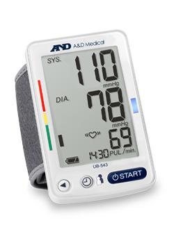 Premium Wrist Blood Pressure Monitor (UB-543)