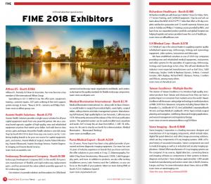 Featured FIME Exhibitors