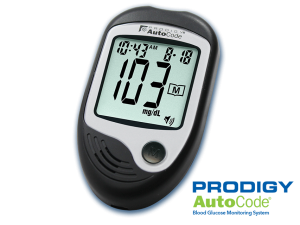Prodigy AutoCode® No Code Talking Glucose Meter