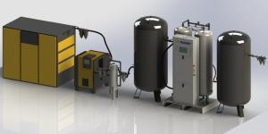 Medical PSA Oxygen Generator (10-2321 L/min Capacity)