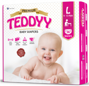 Teddyy Baby Diaper Premium Tape