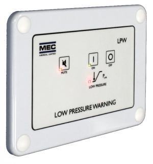 Ambulance Low Pressure Warning for Medical Gas Cylinders / Line Pressure