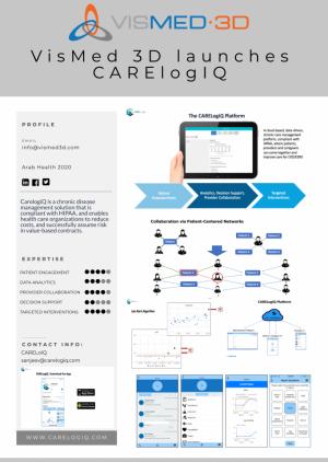 VisMed-3D - CARElogiQ - Empowering coordinated healthcare