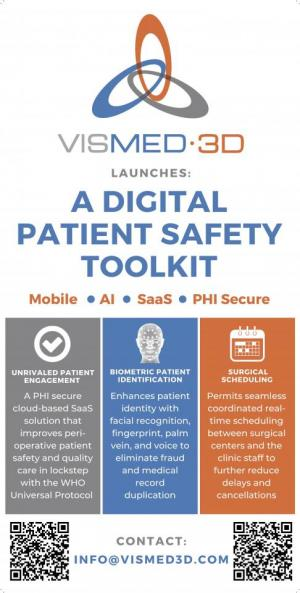 VisMed-3D.com Digital Patient SAFETY TOOLKIT