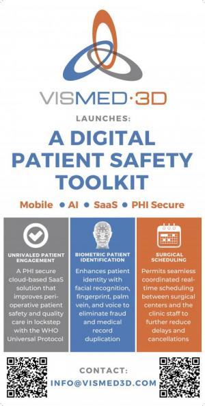 VisMed-3D.com Digital Patient SAFETY TOOLKIT