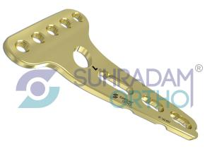 2.7mm LCP Head Buttress Plate [05 hole head]