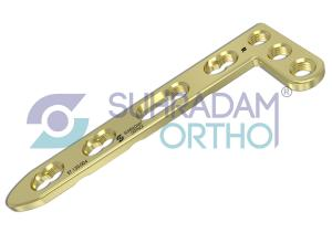 2.7mm LCP L Dorsal Distal Radius Plate [03 hole head]