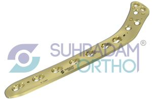 4.5mm LCP Proximal Lateral Tibia Plate