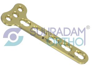 3.5mm LCP T Plate , Right-angle [03 hole head]