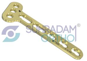 3.5mm LCP T Plate, Oblique [03 hole head]