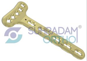 2.4/2.7mm LCP-VA Distal Radius Extra-Articular Plate [05 hole head]